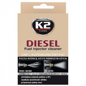 K2-DIESEL Fuel injector cleaner 50ml