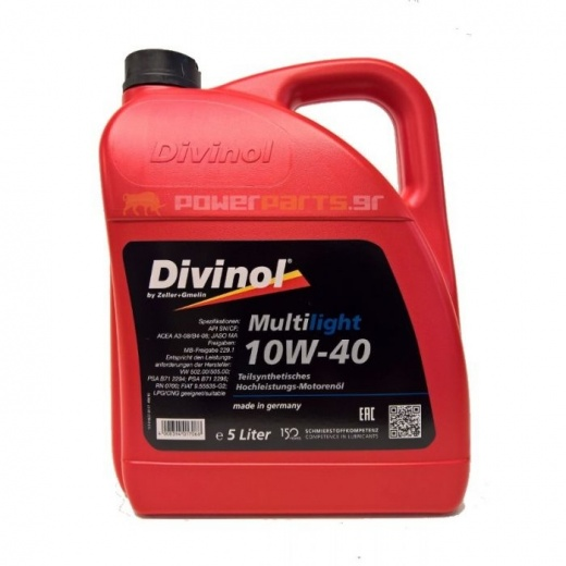 DIVINOL Multilight 10W/40 4L