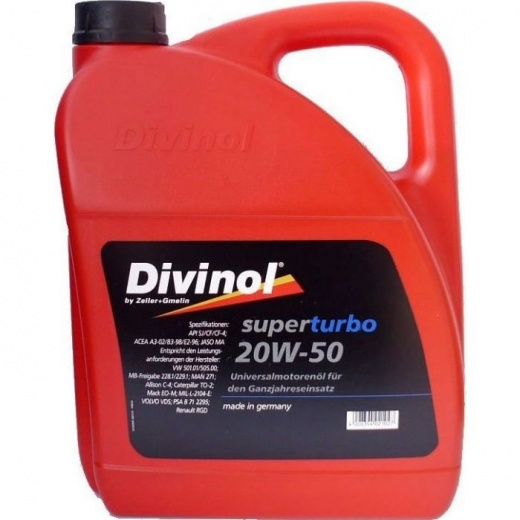 DIVINOL SUPER TURBO 20W/50 5L