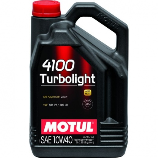 MOTUL 4100 TURBOLIGHT 10W/40 1L